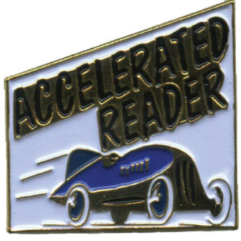 Accelerated Reader Lapel Pin
