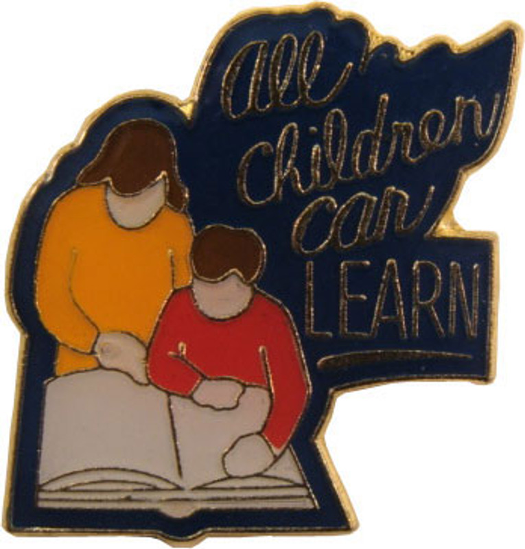 All Children Can Learn Lapel Pin