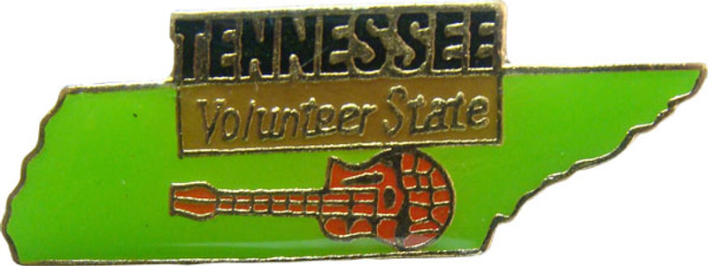 Tennessee State Lapel Pin