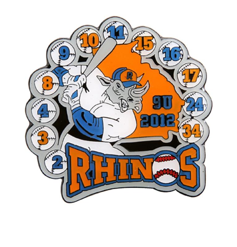 Rockdale Rhinos 9U 2012 Baseball