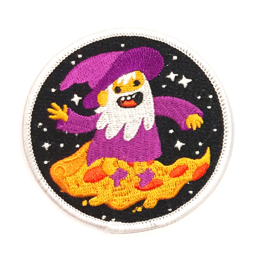Pizza Wizard - Iron on Patch