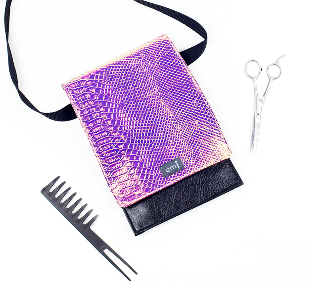 Brushes, Combs and clips not included. Pouch only.