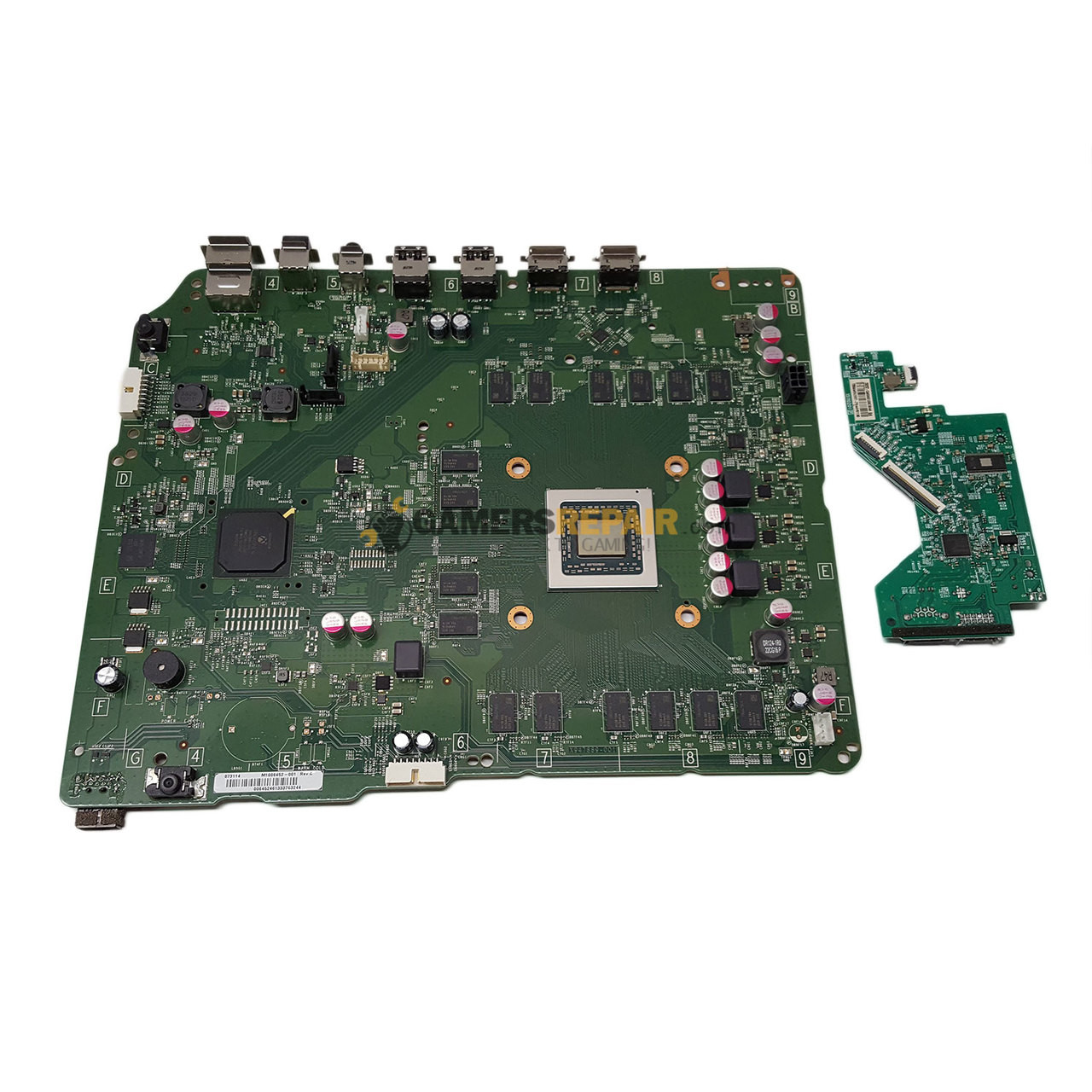 Xbox 360 s motherboard schematic wiring diagram portal xbox one s replacement motherboard rh gamersrepair com xbox 360 motherboard components xbox 360 motherboard diagram ccuart Image collections