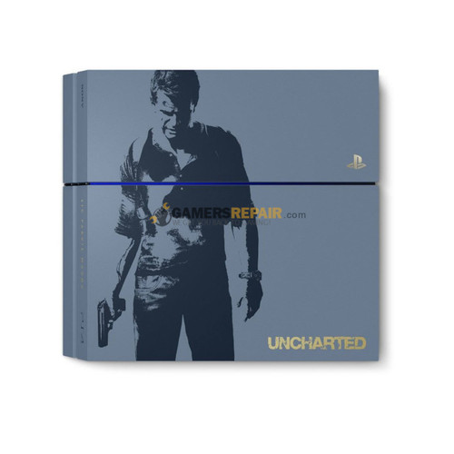 ps4 500gb uncharted 4 limited edition console
