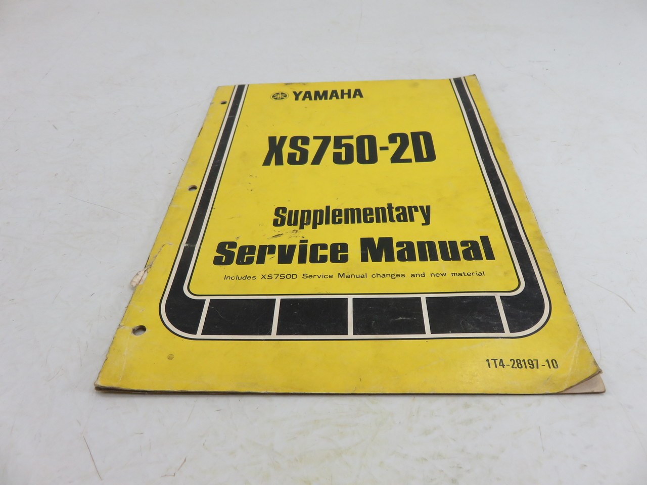 yamaha xs750 2d supplementary service manual lit 11616 00 53s moto rh motodobson com xs750 service manual XS 750 Bobber Chopper