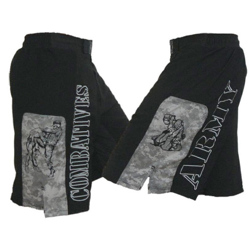 Combatives Fight Shorts with ACU Panels
