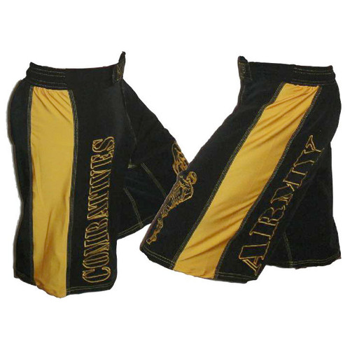 Black and Gold Combatives Shorts