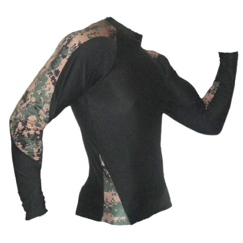 MARPAT Digi Cam Long Sleeve Rash Guard
