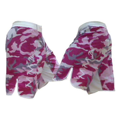 Youth Pink Camouflage Tribal Fight Shorts