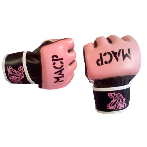 MACP Pink Fight Gloves 4oz
