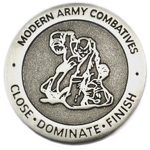 Antique Silver MACP Challenge Coin