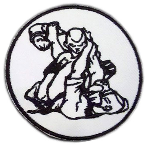 Modern Army Combatives GI Patch White and Black