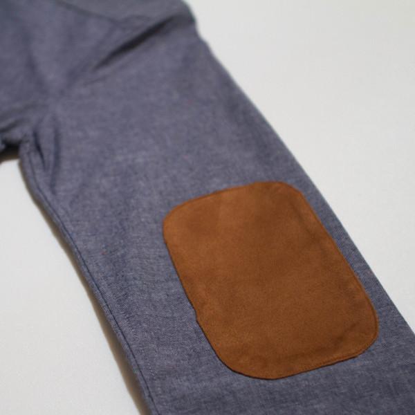 The Nicholas Button-Up - Blue Denim