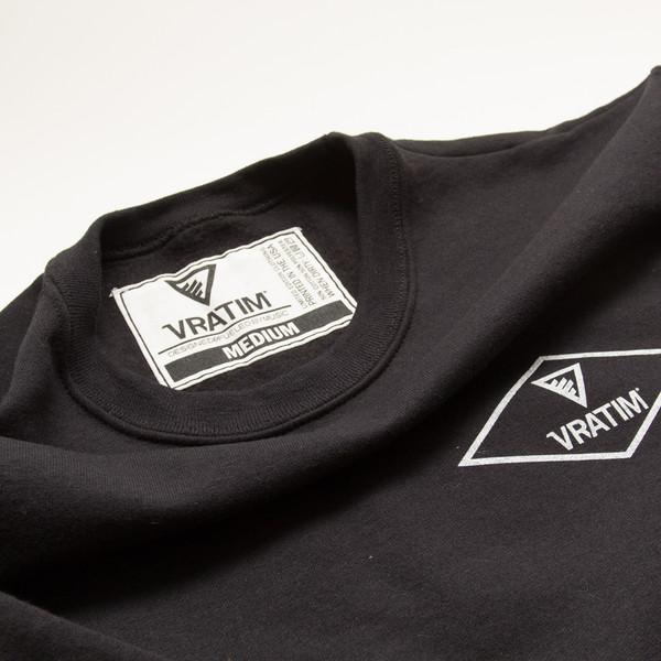 The Vratim Crest Sweatshirt - tag detail
