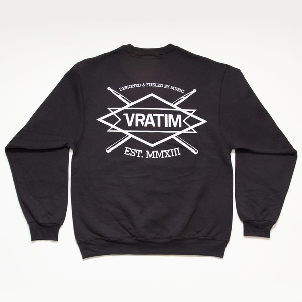 The Vratim Crest Sweatshirt - back