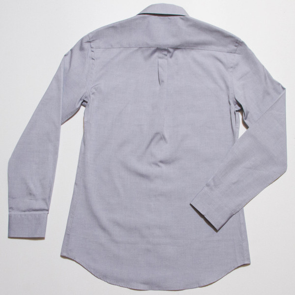 The Vraim Button-Up - Azure Blue back