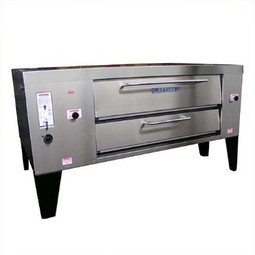 Attias CLASSIC Double Deck Pizza Oven 2 SIS 5-16, NG