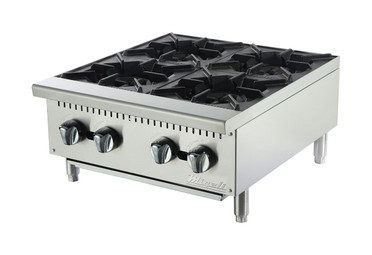"Migali 4 Burner, 24"" Wide Hot plate"