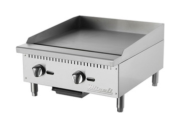 "Migali 24"" Wide Manual Griddle"