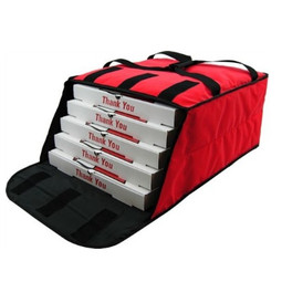 "OVENHOT! PBF4 16/18"" Red fabric delivery bags"
