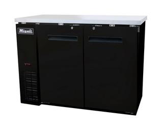 Migali C-BB48 Solid Door Back Bar Refrigerator (11.8 cu ft)
