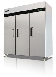Migali C-3R Reach-In Refrigerator -3 Door