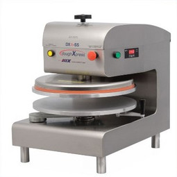 DoughXpress DXA-SS Semi-Automatic Dough Press, 220V/60/1ph