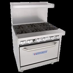 "Bakers Pride 36"" Restaurant Series Standard Oven - 36-BP-6B-S30"
