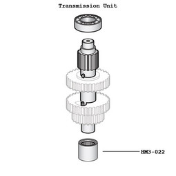 Hobart BN-2-2 Transmission Shaft Needle Bearing For D300 Mixers
