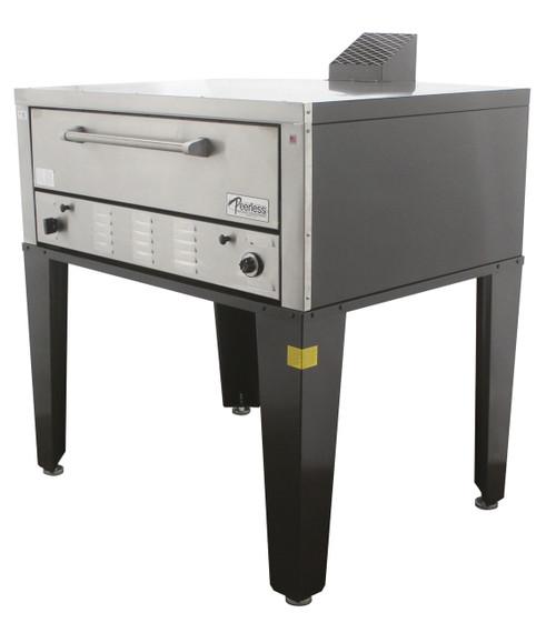Peerless Gas & Electric Single Deck Floor Models Oven-CW41P/CE41PE