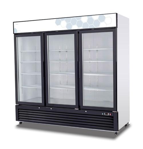 Migali Glass Door Merchandiser Refrigerator (72 cu ft)