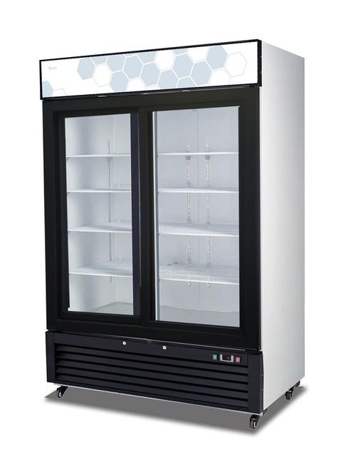 Migali Glass Door Merchandiser - 2 Sliding Doors