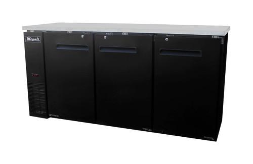 Migali C-BB72 Solid Door Back Bar Refrigerator (19.6 cu ft)