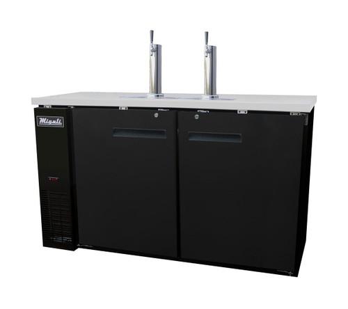 Migali C-DD60-2 Direct Draw Beer Dispensers (15.8 cu ft)