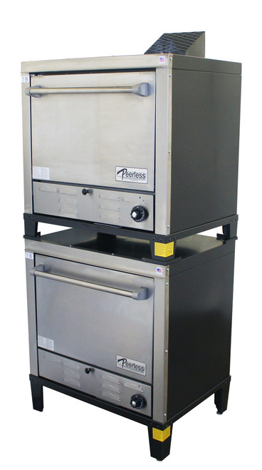 Peerless Double Gas Countertop Pizza Oven - C231P
