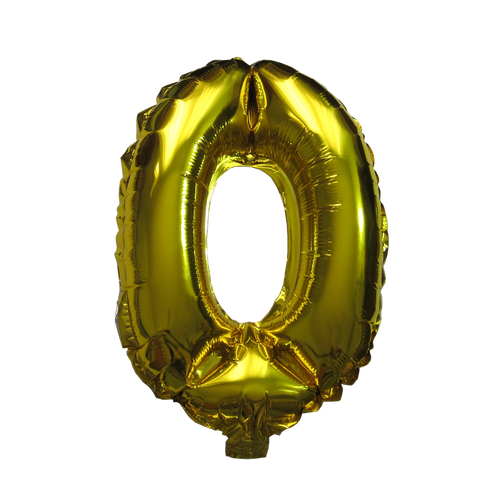 Number Balloons (Gold 0)