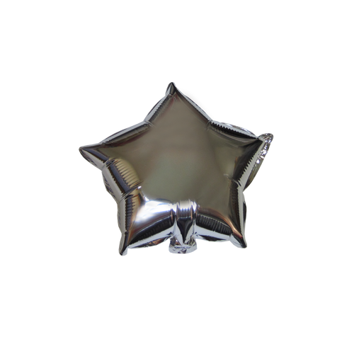 "Star Shape Balloon (10"" Silver)"