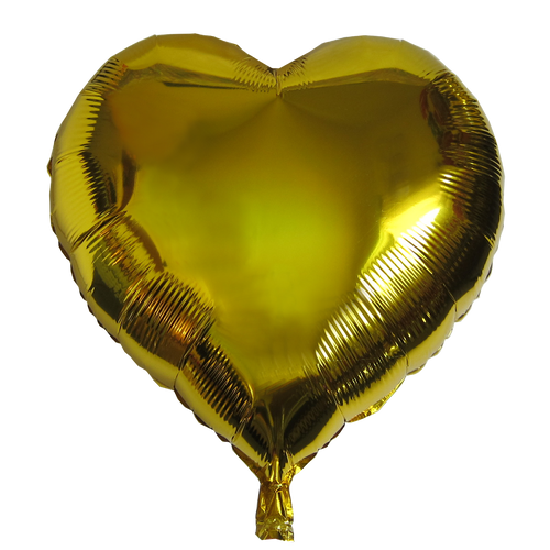 "Heart Shape Balloon (23"" Gold)"