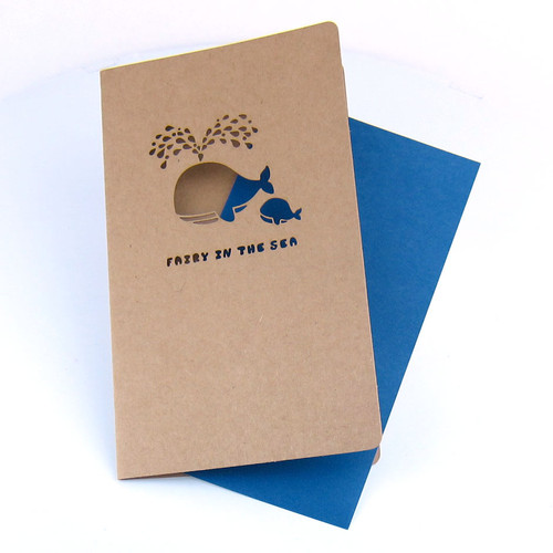 Multi-Purpose Greeting Card - Whale