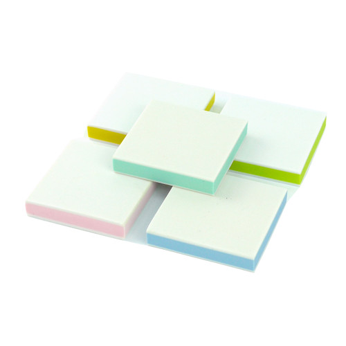 Square Rubber Stamp Carving Block (Sandwich White Outer - 5x5cm)