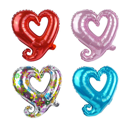 "17"" Hook Hollow Heart Shape Balloon"