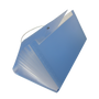 Large size expanding file (blue)