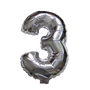 Number Balloons (Silver 3)