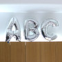 Alphabet Balloons - Make Your Own Phrase