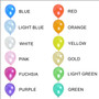 12 Inch Metallic Latex Balloons (5 ct) - 12 colors