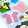 Kids Room Decor 3D Stickers - Fashion Outfits