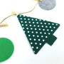 Felt Tree Garland DIY Bunting Room decor
