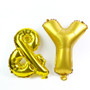 "14"" AND (&) Ampersand Sign (Gold / Silver)"