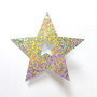 "2.5"" Holographic Star Chip Décor 50pcs"