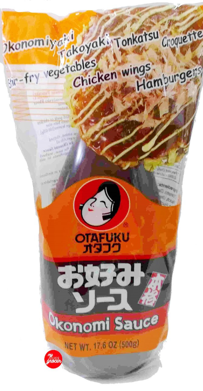 Otafuku Okonomiyaki Sauce Kokusai 500g My Asian Grocer